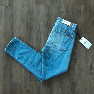 NWT 7 for all mankind High Waisted Jeans Size 24